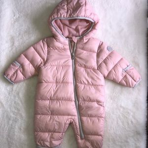 Michael Kors pink bunting suit 0-6 months
